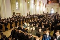 Pielgrzymka seminariów duchownych na Jasną Górę
