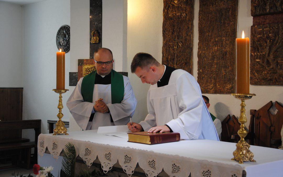 Wyznanie wiary kandydatów do święceń prezbiteratu
