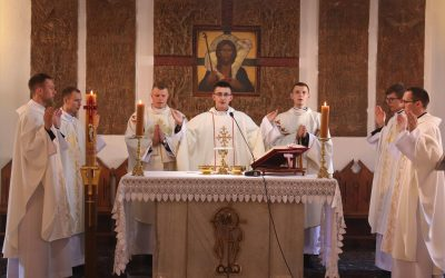 Prymicje w seminarium
