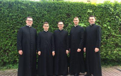Rekolekcje przed święceniami diakonatu