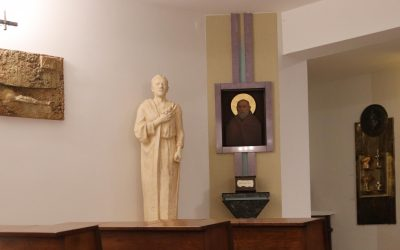 Poświęcenie figury św. Józefa