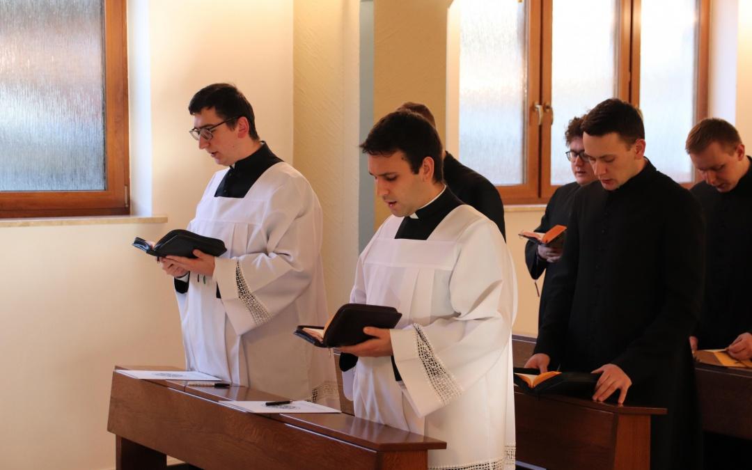 Wyznanie wiary kandydatów do diakonatu